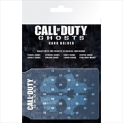 Call of Duty Ghosts Logo Card Holder | Apparel