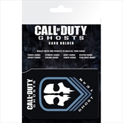 Call of Duty Ghosts Team Card Holder | Apparel
