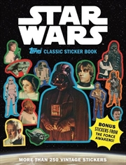 Star Wars Topps Classic Sticker Book | Paperback Book