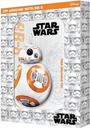 Star Wars: Episode VII: Zip Around with BB-8 pencil case tin   Paperback Book