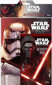 Star Wars - The Force Awakens Activity Pack | Paperback Book