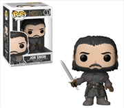 Game of Thrones - Jon Snow (Beyond the Wall) | Pop Vinyl