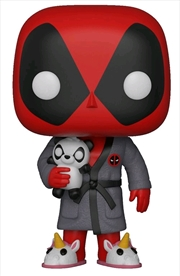 Deadpool - Playtime Bath Robe | Pop Vinyl