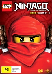 LEGO Ninjago - Masters of Spinjitzu - Season 2 - Vol 1-2 | DVD
