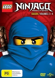 LEGO Ninjago - Masters of Spinjitzu - Season 2 - Vol 3-4 | DVD