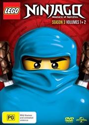 LEGO Ninjago - Masters of Spinjitzu - Season 3 - Vol 1-2