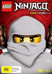 LEGO Ninjago - Masters of Spinjitzu - Season 4 - Vol 1-2 | DVD