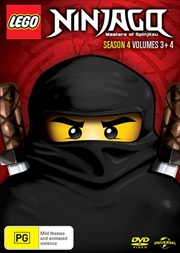 LEGO Ninjago - Masters of Spinjitzu - Season 4 - Vol 3-4 | DVD
