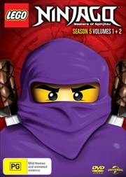 LEGO Ninjago - Masters of Spinjitzu - Season 5 - Vol 1-2 | DVD