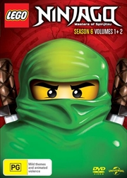 LEGO Ninjago - Masters of Spinjitzu - Season 6 - Vol 1-2