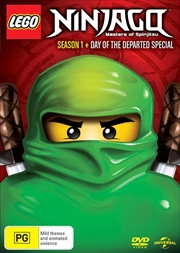 LEGO Ninjago - Masters of Spinjitzu - Season 1   Inc Day Of The Departed Special