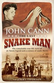 The Last Snake Man | Paperback Book