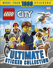 LEGO® City Ultimate Sticker Collection | Paperback Book