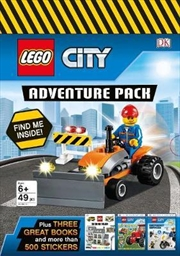 Lego City: Adventure Pack | Paperback Book