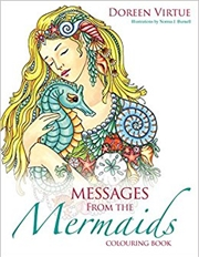 Messages From The Mermaids Colouring Book | Paperback Book
