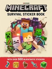 Minecraft Survival Sticker Book | Paperback Book
