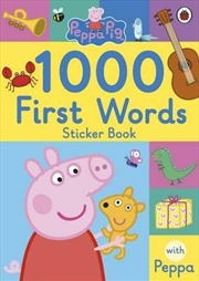 Peppa Pig: 1000 First Words St | Paperback Book