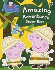 Peppa Pig: Amazing Adventures | Paperback Book