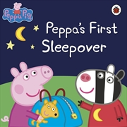 Peppa Pig: Peppas First Sleepover | Paperback Book