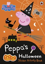 Peppa Pig: Peppa's Halloween: Sticker Activity Book | Paperback Book