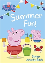 Peppa Pig: Summer Fun! Sticker Activity Book | Paperback Book