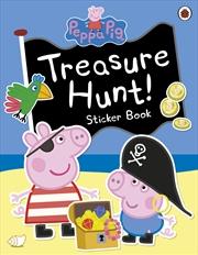 Peppa Pig: Treasure Hunt! Sticker Book | Paperback Book