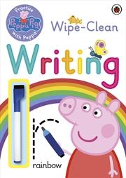Peppa Pig: Wipe Clean Writing | Paperback Book