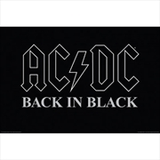 ACDC Back In Black | Merchandise