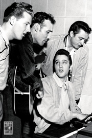 Million Dollar Quartet (Elvis Presley, Jerry Lee Lewis, Carl Perkins & Johnny Cash)