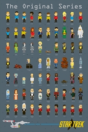 Star Trek - Pixels | Merchandise