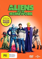 Aliens Ate My Homework | DVD