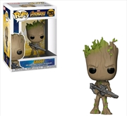 Avengers 3: Infinity War - Teen Groot with Gun Pop! Vinyl | Pop Vinyl