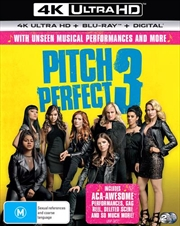 Pitch Perfect 3 | Blu-ray + UHD + Digital Copy