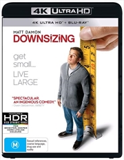 Downsizing | Blu-ray/Digital/Hd