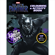Marvel Black Panther -Colouring Book