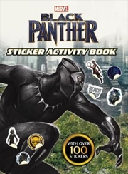 Black Panther - Sticker Activity Book