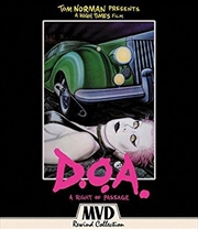 Doa - A Right Of Passage | Blu-ray/DVD