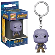 Avengers 3: Infinity War - Thanos Pocket Pop! Keychain