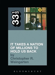 Public Enemys It Takes A Nation Of Millions To Hold Us Back | Paperback Book