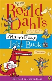 Roald Dahl's Marvellous Joke Book | Paperback Book