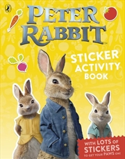 Peter Rabbit The Movie: Sticker Activity Book | Paperback Book