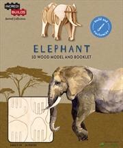 Incredibuilds Animal Collection Elephant | Merchandise