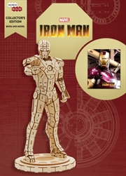 Incredibuilds Marvel Iron Man Collectors Edition Book And Model