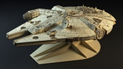 Incredibuilds Star Wars Millennium Falcon Collectors Edition Book And Model 18"