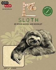 Incredibuilds Animal Collection Sloth
