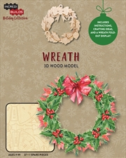 Incredibuilds Christmas Holiday Collection Wreath