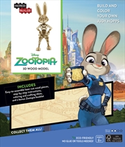Incredibuilds Disney Zootopia 3D Wood Model