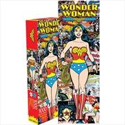 Wonder Woman Retro 1000pc Slim Puzzle