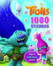 Trolls - 1000 Stickers | Paperback Book