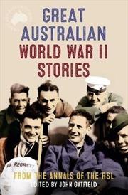 Great Australian World War 2 Stories | Paperback Book